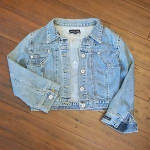 Medium Baby Phat Cropped Jean Jacket